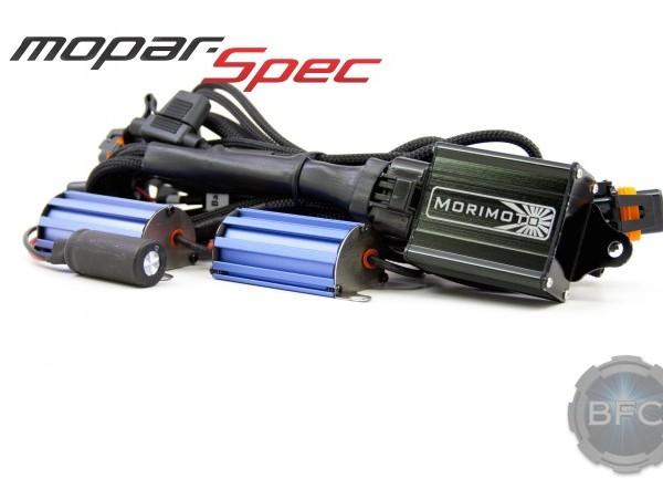 Morimoto Mopar Bi xenon Harness 1 600x433 wiring harnesses bi xenon motocontrol blackflamecustoms com Wire Harness Assembly at mifinder.co