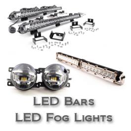 Fog Light Kits & LED Light Bars