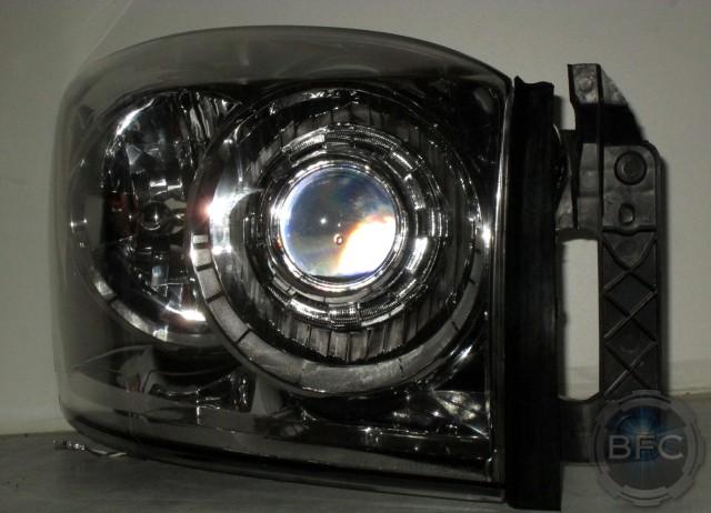 Dodge Ram Chrome D S Hid Headlights