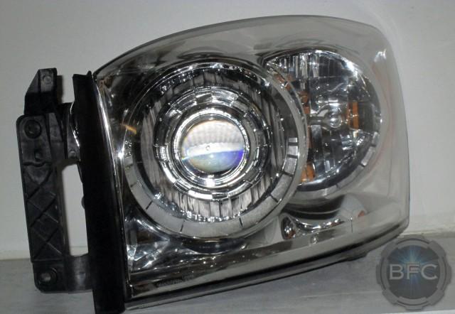 2006 2008 dodge ram complete hid projector headlight. Black Bedroom Furniture Sets. Home Design Ideas