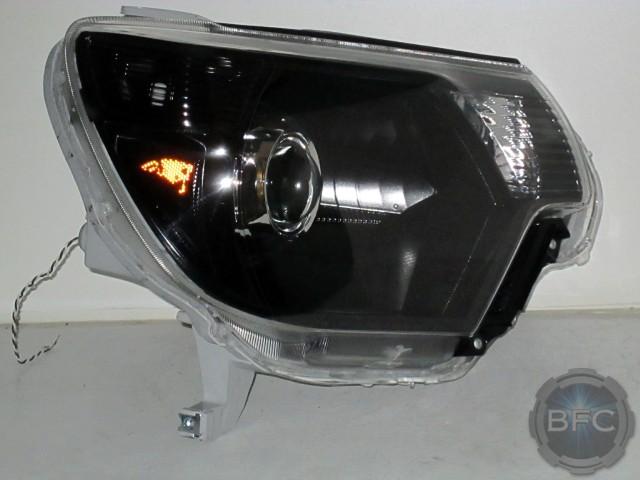 2012 Tacoma TRD Black Chrome HID Headlamps