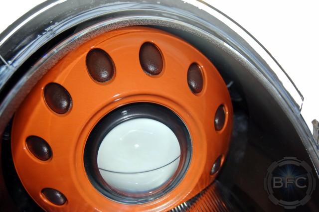 2005 Mini Cooper S Black Orange Xenon Headlights