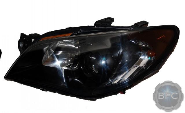2006 Subaru STI Black Chrome HID Headlights