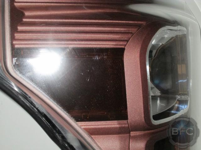 2012 Gold Bronze Superduty Headlights