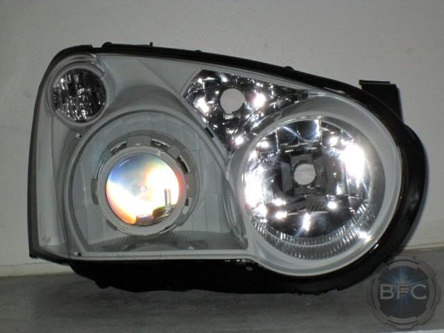 2005 Subaru WRX White Headlights