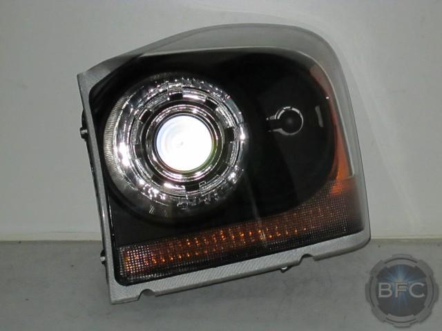 2005 Dodge Durango Black Amp Chrome Hid Projector Headlights
