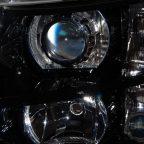 2008 Chevy Silverado Black & Chrome HID Projectors