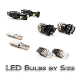 LED Bulbs by Size