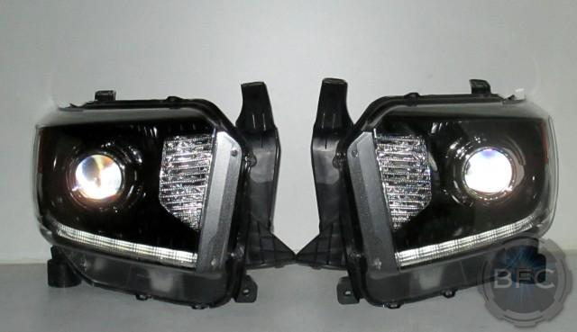 2016 Toyota Tundra Black & Chrome Platinum LED HID ...
