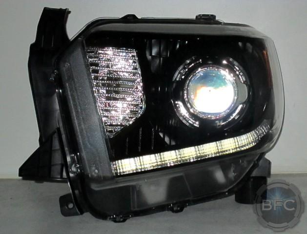 2016 Toyota Tundra Platinum LED HID Retrofit Projector Headlights