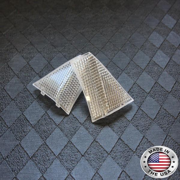 2005-2011 Toyota Tacoma CLEAR HEADLIGHT REFLECTORS