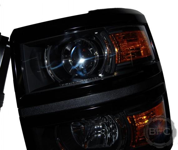 2015 Chevy Silverado HID Projector D2S Conversion Headlights