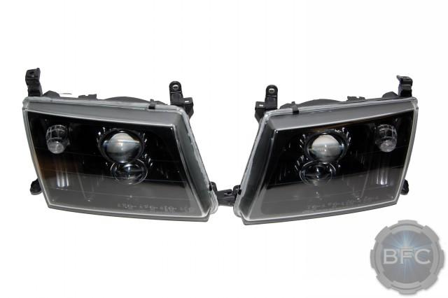 98-04 Toyota Land Cruiser QUAD HID Retrofit Headlights D2S MH1