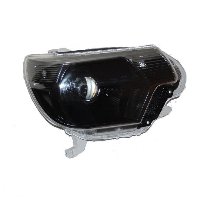 2012-2015 Toyota Tacoma HID Projector Headlight Retrofit Conversion Package ALL BLACK – Pre-Configured