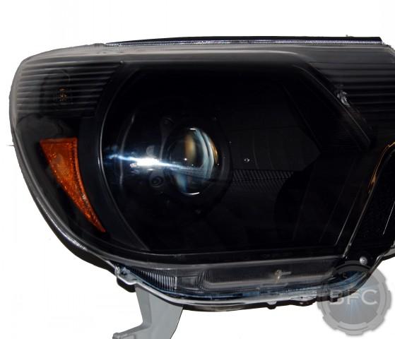 2013 Toyota Tacoma All Black HID Projector Headlights