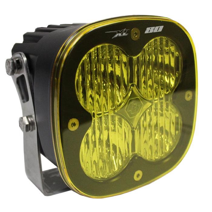 XL80 LED Wide Cornering Light Single AMBER by Baja Designs