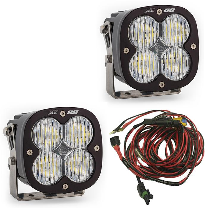 XL80 LED Wide Cornering Light Pair by Baja Designs