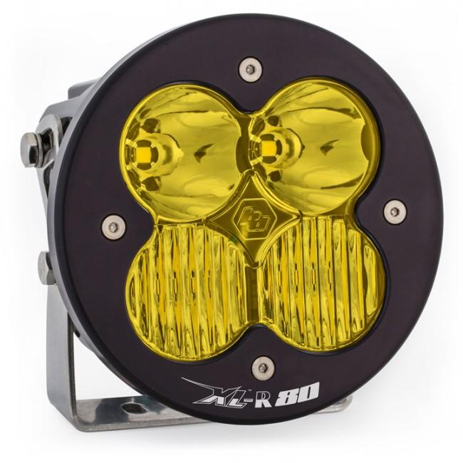 XL80-R LED Driving/Combo Light Single AMBER by Baja Designs