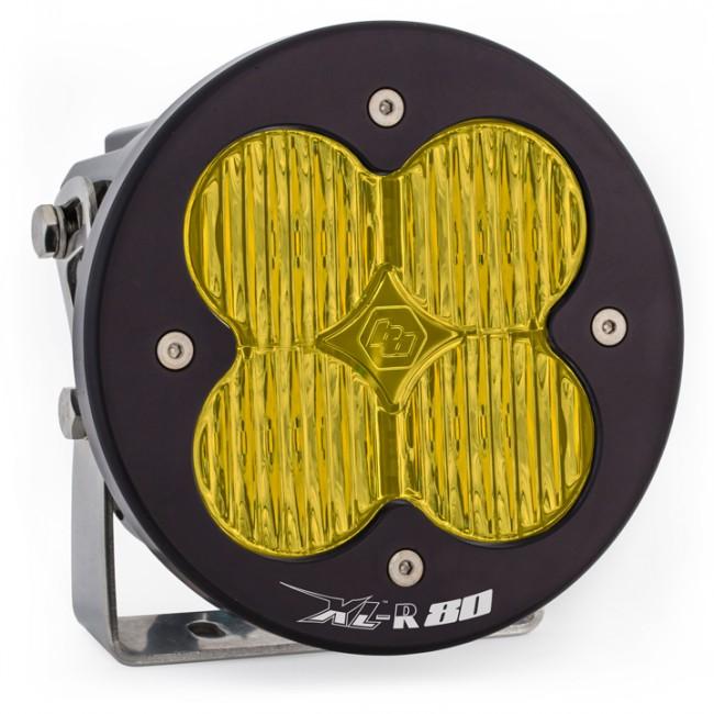 XL80-R LED Wide Cornering Light Single AMBER by Baja Designs