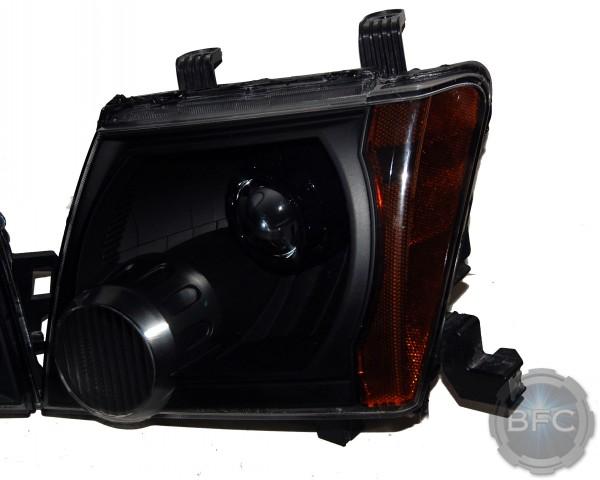 2012 Nissan Xterra All Black HID Headlights
