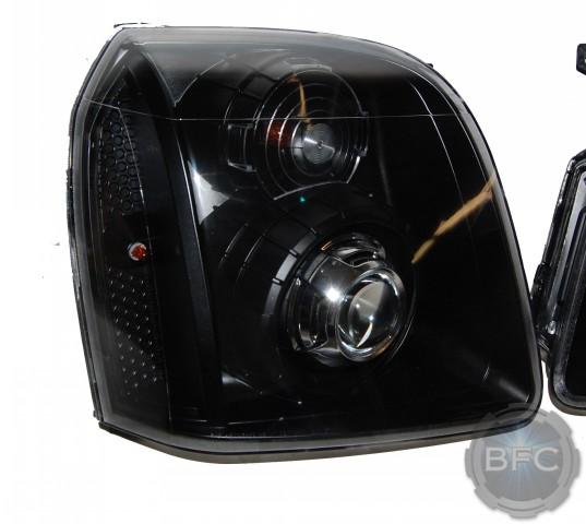 2008 Gmc Yukon Denali All Black Amp Chrome D2s Hid