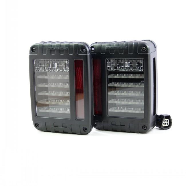 2007+ Jeep Wrangler JK LED Tailights Kit by JW Speaker