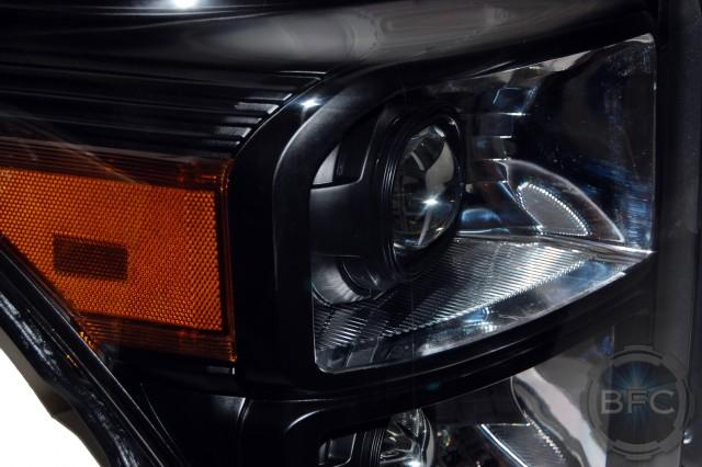 2016 Quad Black Chrome HID Projector Q5X HID Retrofit Headlights