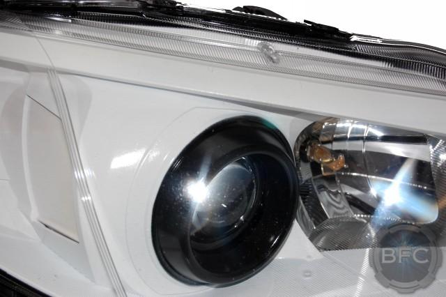 2012 Subaru Wrx White Amp Black Custom Painted Hid