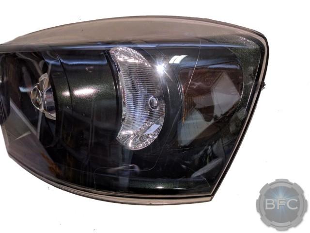 2006 Dodge Ram 2500 Emerald Green Headlights HID Projectors