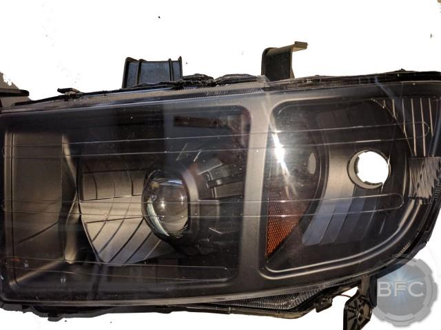 Honda Ridgeline All Black HID Projector Headlights