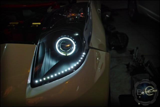 06-08 Toyota Yaris Hatchback   BlackFlameCustoms.com