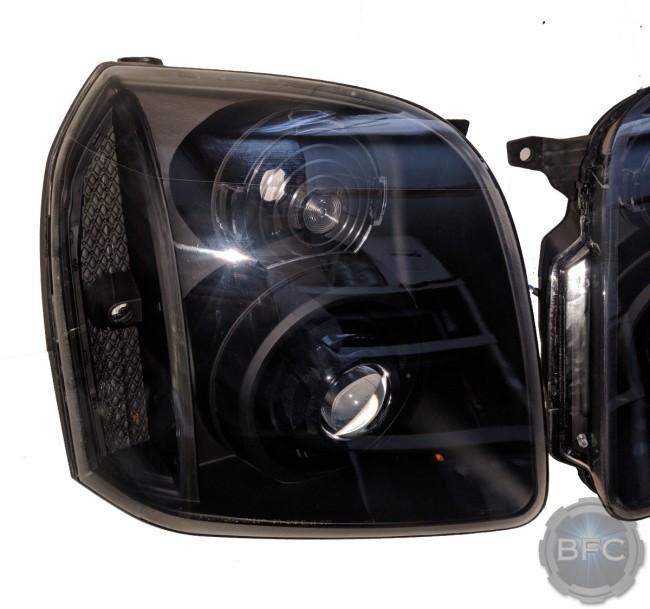 2014 Gmc Yukon Denali All Black Hid Projector Retrofit