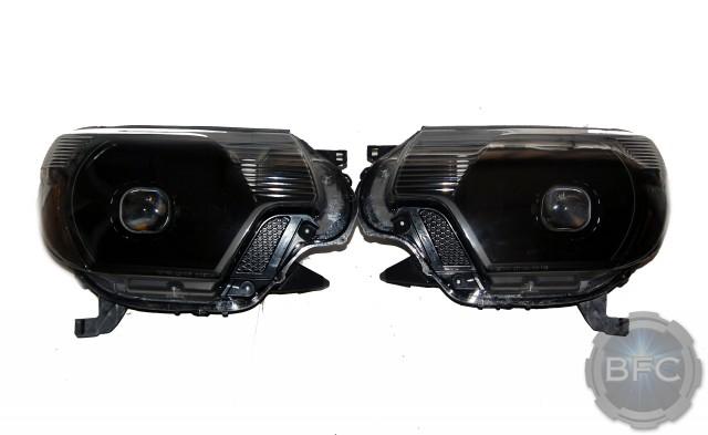 2015 Toyota Tacoma TRD Black Custom Projector Headlights
