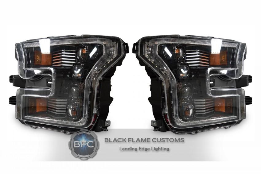 2015 2017 Ford F150 Full Led Xb Series Headlights Kit