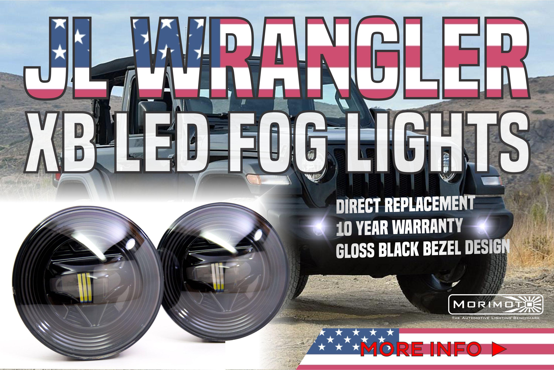 Jeep Jk Wrangler Jl Xb Led Fog Lights Ready To Rock