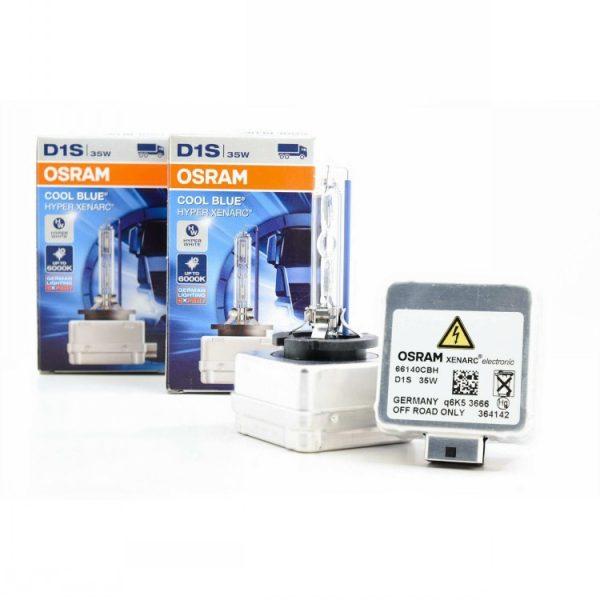 D1S Osram 66140CBH HID Xenon 6000K Headlight Bulbs 1