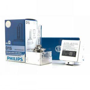 D1S Philips 85415 WhiteVision Gen2 HID Headlight Bulbs 3