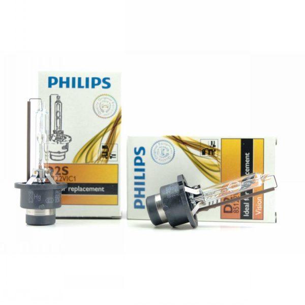 D2S Philips 85122 D2S HID Headlight Bulbs 2