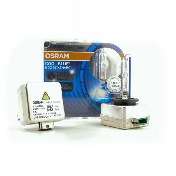 D3S Osram Cool Blue Boost 66340 CBB HID Xenon Headlight Bulbs 2