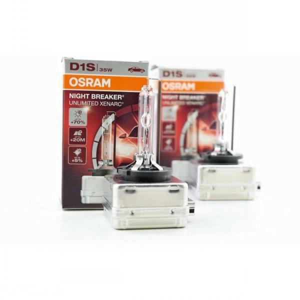 Osram D1S Nightbreaker OEM HID Bulbs 3