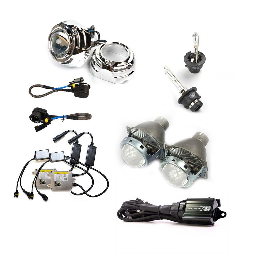 q5r round d2s hid projector headlight retrofit kit