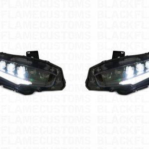 2016+ Honda Civic XB LED Morimoto Full Headlights Kit