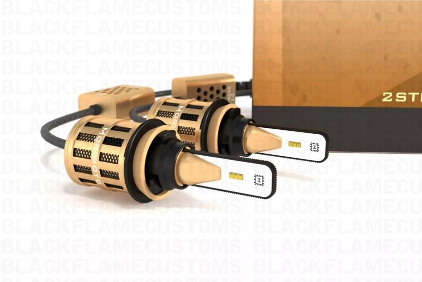 H11 H8 H9 Morimoto 2-Stroke 2.0 LED Headlight Bulb System