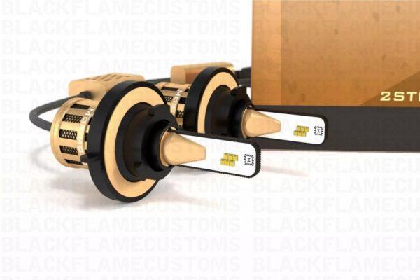 H13 Morimoto 2-Stroke 2.0 LED Headlight Bulb System
