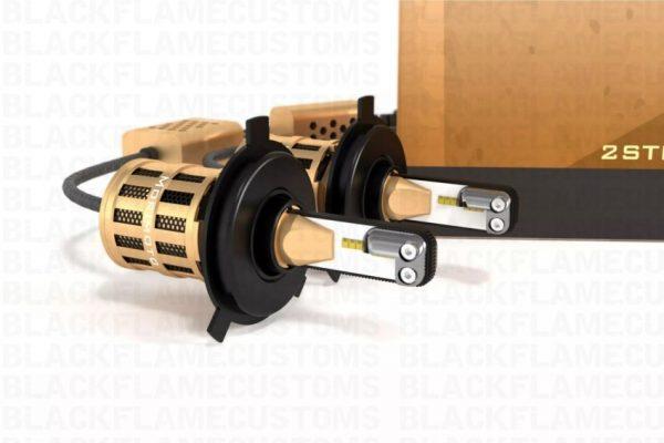 H4 Morimoto 2-Stroke 2.0 LED Headlight Bulb System