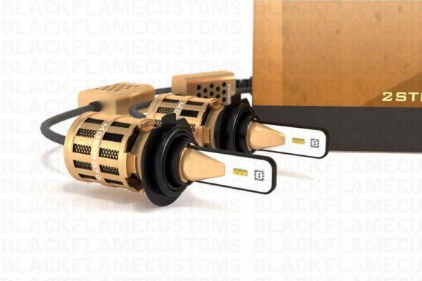 H7 Morimoto 2-Stroke 2.0 LED Headlight Bulb System