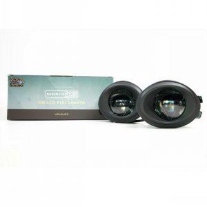 BMW E46 E39 M3 M5 LED Projector Fog Lights Morimoto XB LED 1