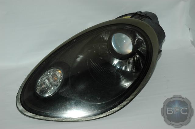 2007 Porsche Boxster 987 Custom Black Headlights