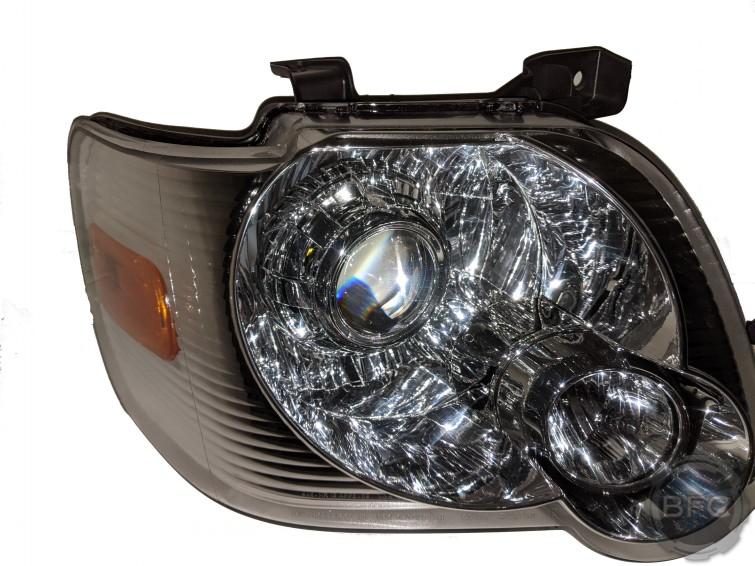 2008 Ford Explorer and Sportrac Custom HID Projector Retrofit Headlights