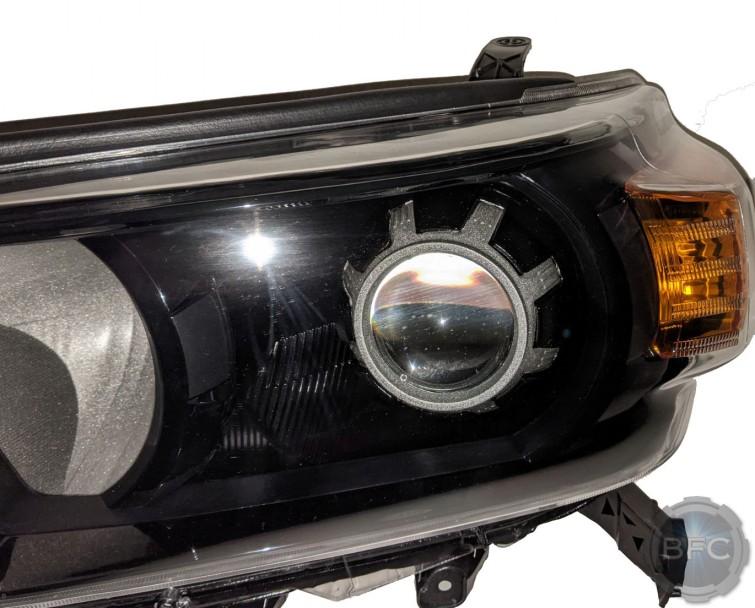 2010 Toyota 4Runner Black & Silver Custom Projector Headlights
